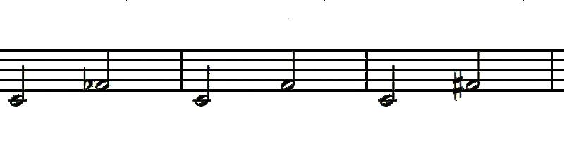 intervalos de cuarta