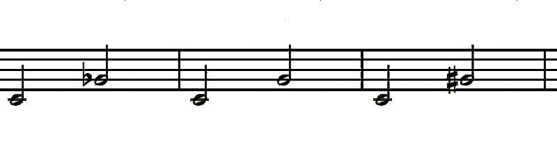 intervalos de quinta